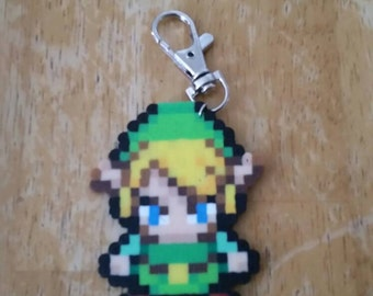 The Legend of Zelda: Minish Cap Link Perler Keychain