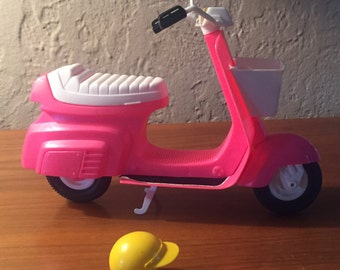 Vintage Mattel 1978 StarCycle Barbie Doll Scooter Bike