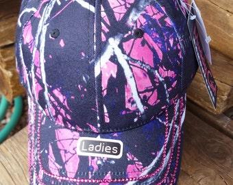 Custom 1 of a Kind MuddyGirl Camo Hat