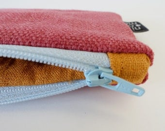Pouch with sturdy soft fabric