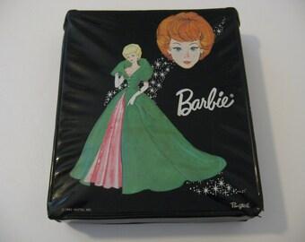 1963 Black -  Barbie Ponytail - Doll Case