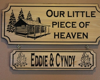Custom sign for cabin, Cabin Sign Wood, Personalized Cabin Sign, Camp Sign, carved cabin signs, custom wood cabin signs, custom cabin decor