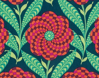 New! Amy Butler - Eternal Sunshine - Zebra Bloom - Ink