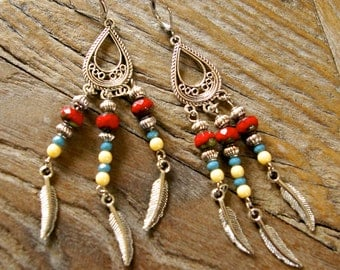 "Earrings ""Apache"""