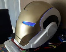 Mark 39 iron man gemini 3d printed helmet