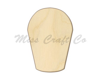 Garden Bucket Wood Craft Shape, Unfinished Wood, DIY Project. All Sizes Available, Small to Big