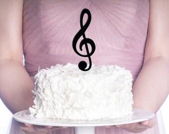 Cake Toppers Etsy Uk : Music wedding cake topper   Etsy UK