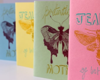 Notebook: Moths & Butterflies (A5)