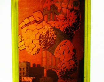 "The Fantastic Four ""Marvel"" the ""Thing"" Hologram Trading Card 1992"