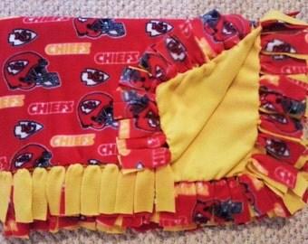 Kansas City Chiefs Fleece Blanket