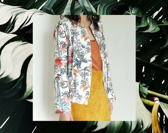FLOWERS BOMBER JACKET