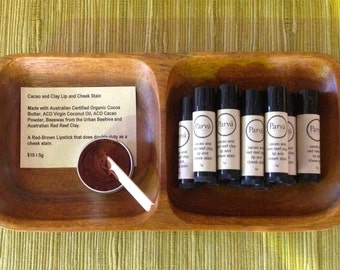 Cacao and Clay Organic Lip and Cheek Stain 5g