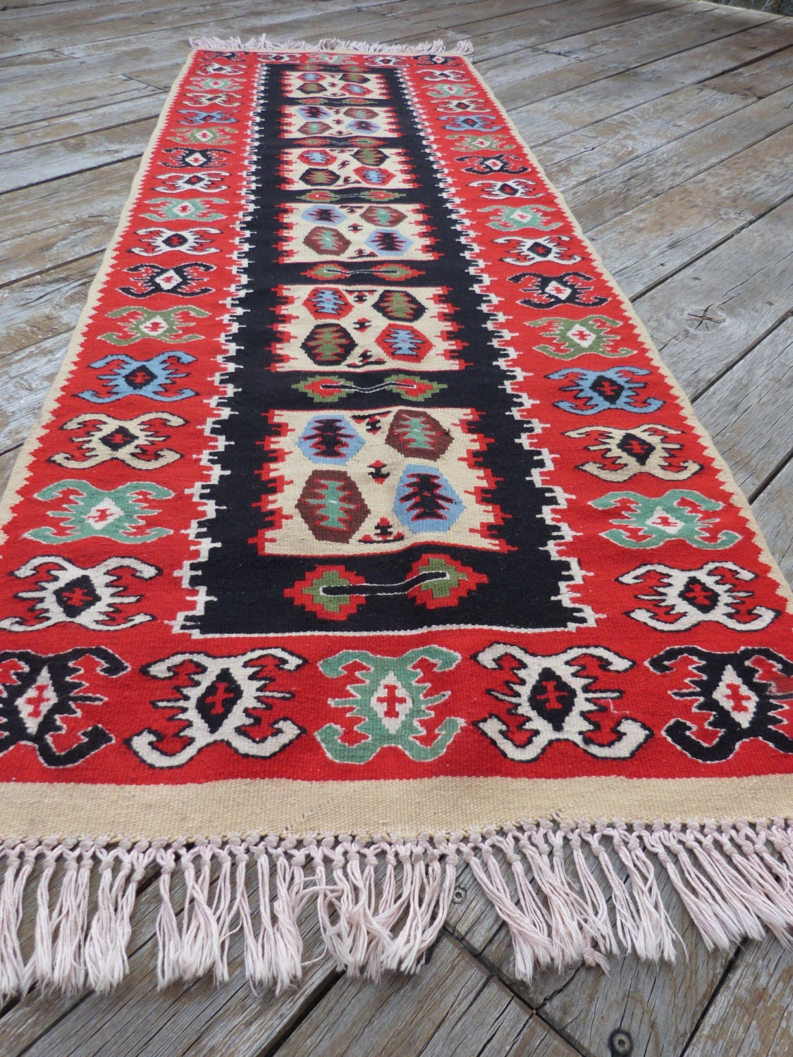 how to clean a woven rug