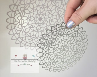 SALE - COMMERCIAL USE Mandala paper cutting template