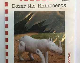 Dozer the Rhinoceros - Ric Rac Pattern