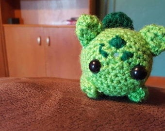 Handmade Crochet Bulbasaur from Pokémon