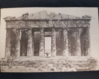 Vintage 1910s Greek  Postcard