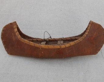 Small Birchbark Canoe Circa 1920