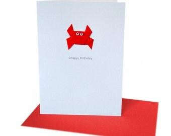 Snappy Birthday - Card