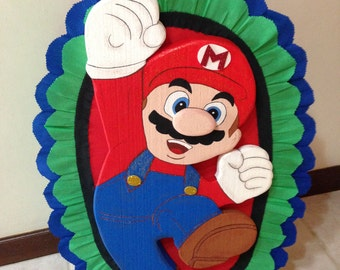 Mario Bros Pinata Birthday. Party Decorations and Supplies