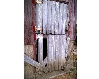 Barn Door Photograph