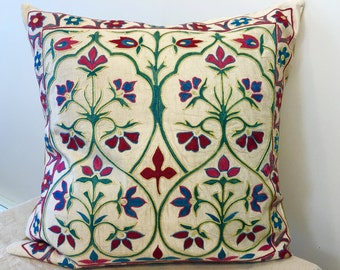 Uzbek suzani pillow cover # 27