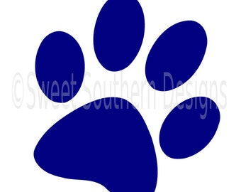 Download Dog Puppy Cat Animal Paw Print .SVG .EPS .PNG Instant ...