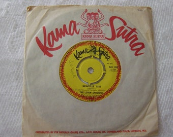 "vintage vinyl,the lovin spoonful,nashville cats 7"" single,classic vinyl"
