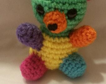 Mini Rainbow Bear