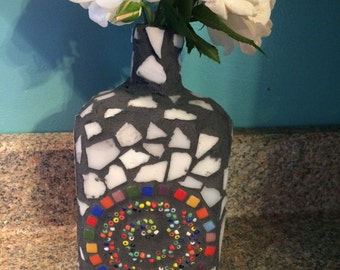 Upcycled Sprial Mosaic
