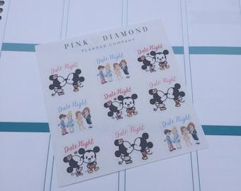 Date Night Stickers - Mini Version