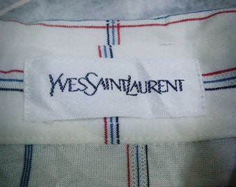 YSL polo shirt /white colour/Medium