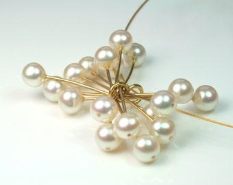 Anhänger Perlen - 750 Gold