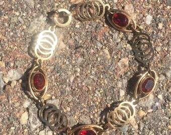 12kt GF retro bracelet