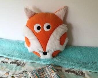Plush Fox pillow for children