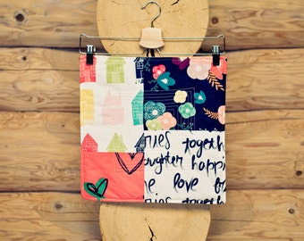 patchwork sew kit - happy home No. 2