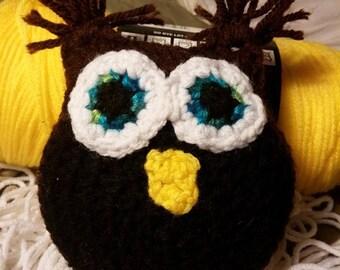 Crochet Owl Friend