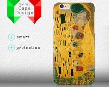 Case Cover The Kiss Gustav Klimt Portrait Oli Paint Iphone 4/4S/5/5S/SE/5C/6/6S/6+/6splus Samsung S3/S3neo/S4/S4mini/S5/S5mini/S6/note