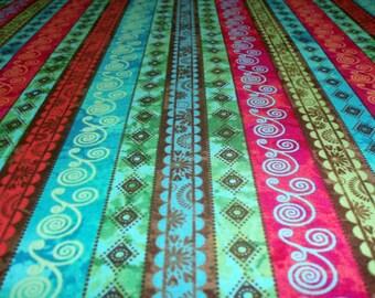 Premium cotton fabric Karma Spirit - stripes