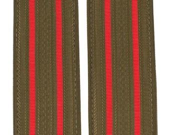 Soviet everyday shoulder boards senior Officers ground forces, military epaulettes