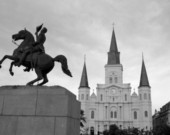 Andrew Jackson and Saint Louis Cathedral