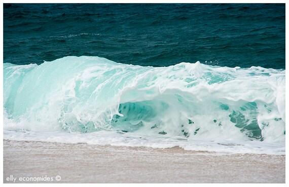 sea, ocean, aqua, wave, blue, water, beach, turquoise, wild, wall art, Ocean Waves, 042