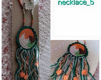 Bohemian necklace 5