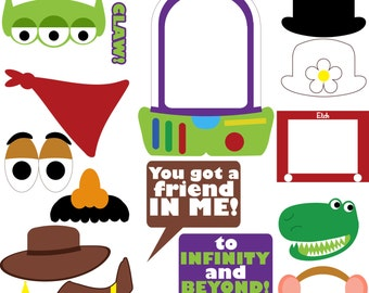 Toy Story Photo Booth Prop/Centerpiece