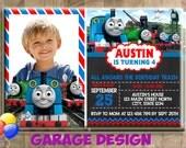 Thomas The Train Birthday Invitation, Thomas and Friend Birthday invitation, Thomas Birthday invitation, Thomas Birthday Invitation