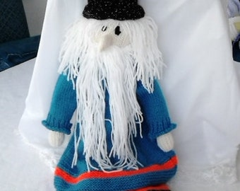 Doll, Knitted, Wizard