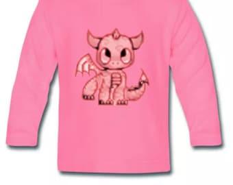 Baby Dragon girls long sleeve T-Shirt