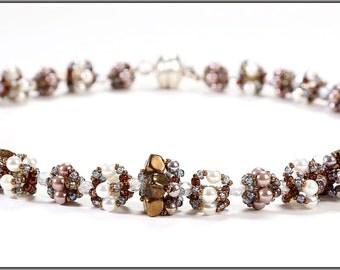 """elegant near neck chain """"crownlet"""""""