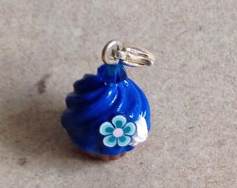 Charm Cupcake royal blue