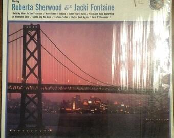 Roberta Sherwood & Jacki Fontaine - I Left My Heart in San Francisco AK-242 Vinyl Record LP